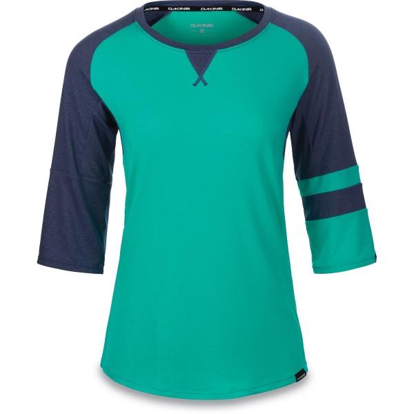 Dakine Xena 3/4 Jersey Damen Bike Jersey Aqua Green / Crown Blue