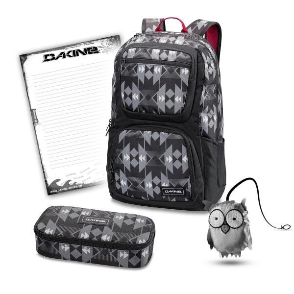 Dakine Jewel 26L + School Case XL + Emma + Block Schulset Fireside II