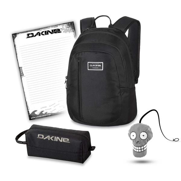 Dakine Factor 22L + Accessory Case + Harry + Block Schulset Black