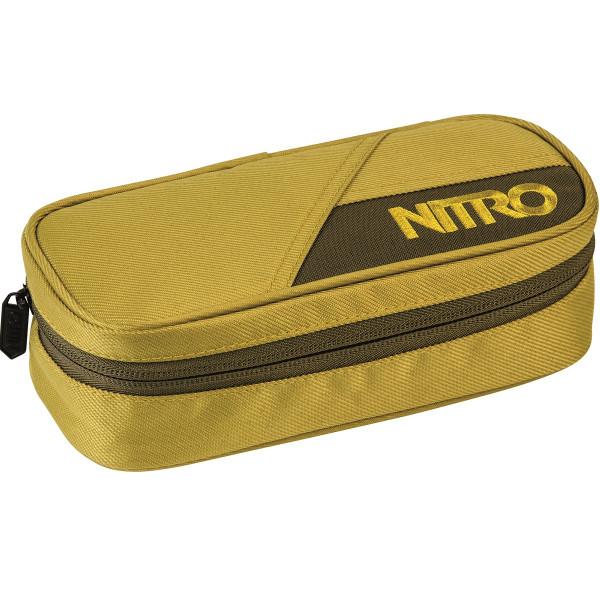 Nitro Pencil Case Federmäppchen Golden Mud