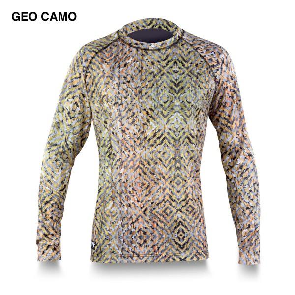 Dakine Trigger Crew Mid-Weight Funktionsshirt Geo Camo