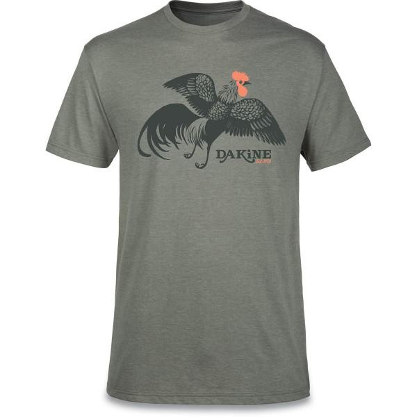 Dakine Free Range Herren T-Shirt Platinum Heather