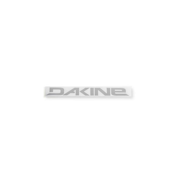 Dakine Rail Logo 6'' Plotted Aufkleber Silver (15 x 2.5 cm)