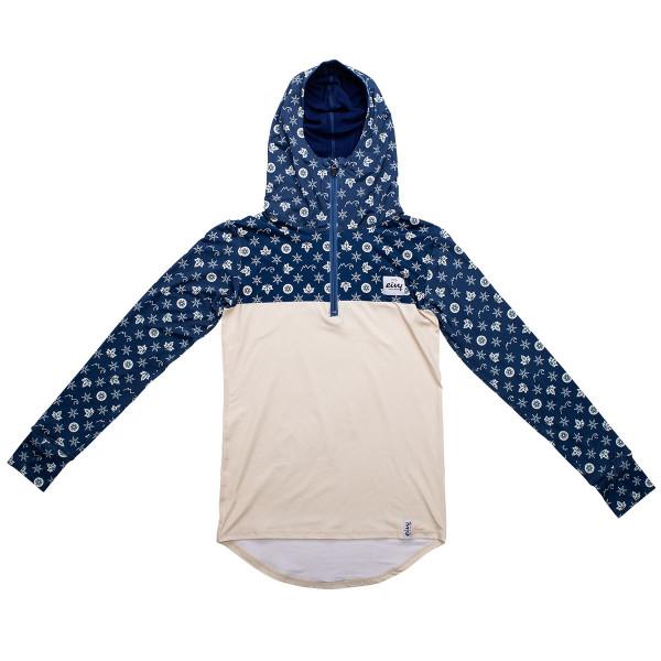 Eivy Icecold Zip Hood Top´20 Navy Monogram