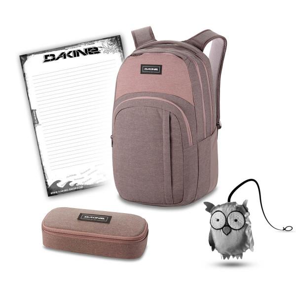 Dakine Campus L 33L + School Case + Emma + Block Schulset Sparrow