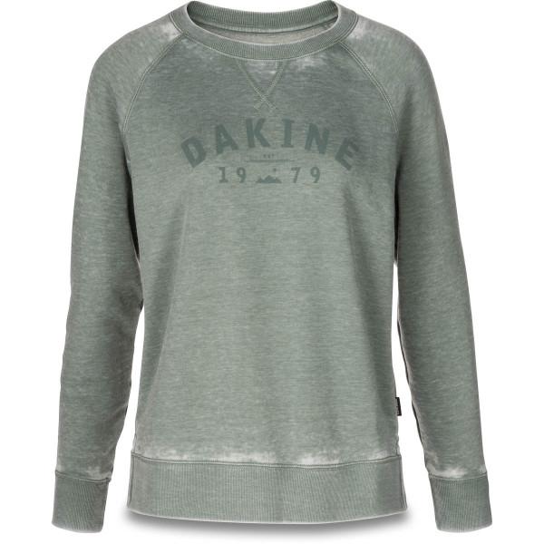 Dakine Constance Crew Neck Fleece Damen Sweatshirt / Pullover Coastal Green