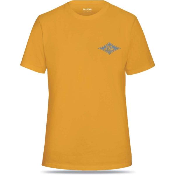 Dakine Diamond Logo Herren T-Shirt Golden Glow
