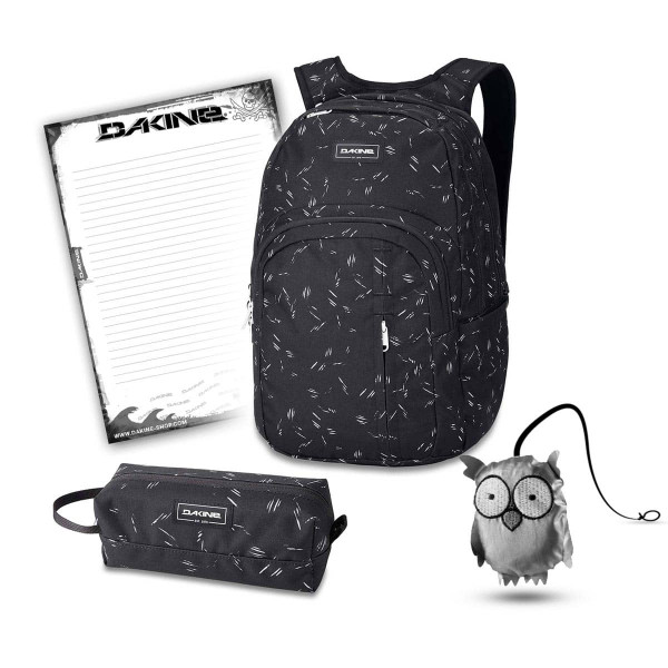 Dakine Campus Premium 28L + Accessory Case + Emma + Block Schulset Slash Dot