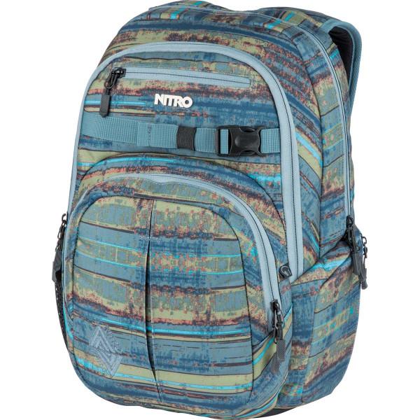 Nitro Chase 35L Rucksack mit Laptopfach Frequency Blue