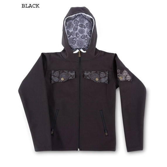 Dakine Womens Bandit Damen Hoodie Kapuzen Pullover Black