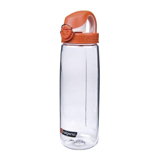 NALGENE® Everyday OTF 0,7L Trinkflasche Transparent/Orange--1013910