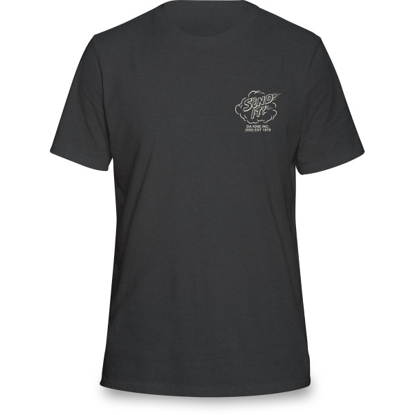 Dakine Send It T Shirt Herren Washed Black