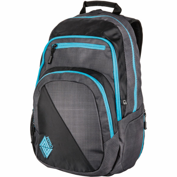 Nitro Stash 29L Rucksack mit Laptopfach Blur Blue Trims
