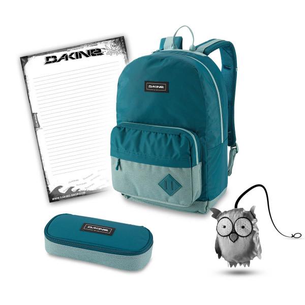 Dakine 365 Pack 30L + School Case + Emma + Block Schulset Digital Teal
