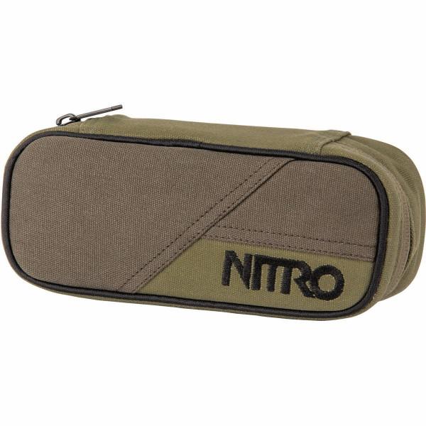 Nitro Pencil Case Federmäppchen Smoke