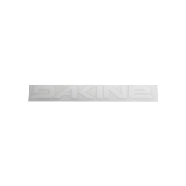 Dakine Rail Logo 36'' Sticker Aufkleber White (91 x 9 cm)