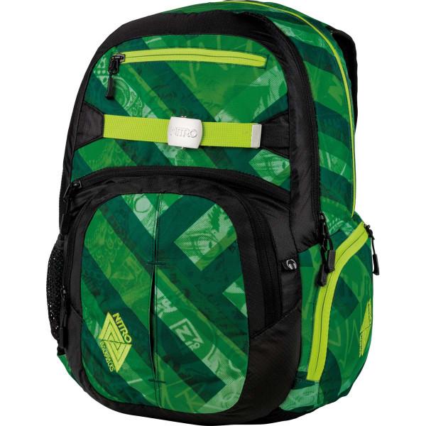 Nitro Hero 37L Rucksack mit Laptopfach Wicked Green