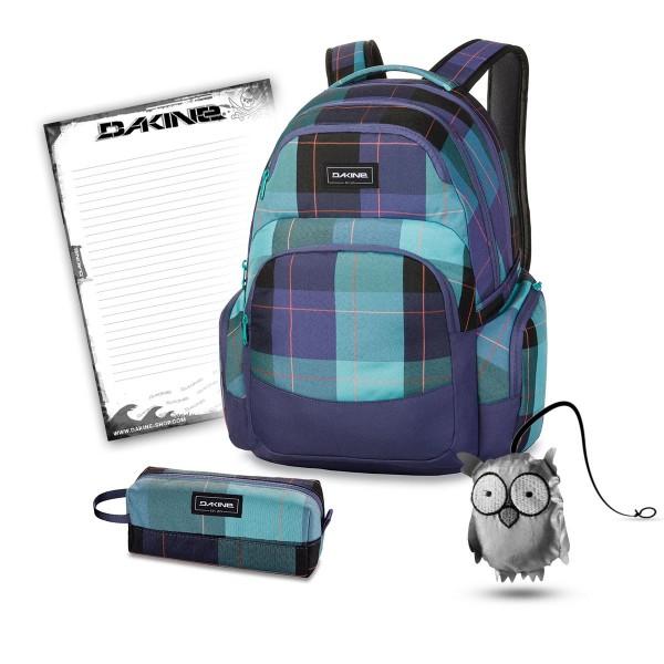 Dakine Otis 30L + Accessory Case + Emma + Block Schulset Aquamarine
