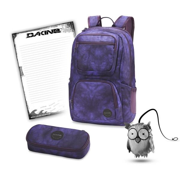 Dakine Jewel 26L + School Case + Emma + Block Schulset Purple Haze