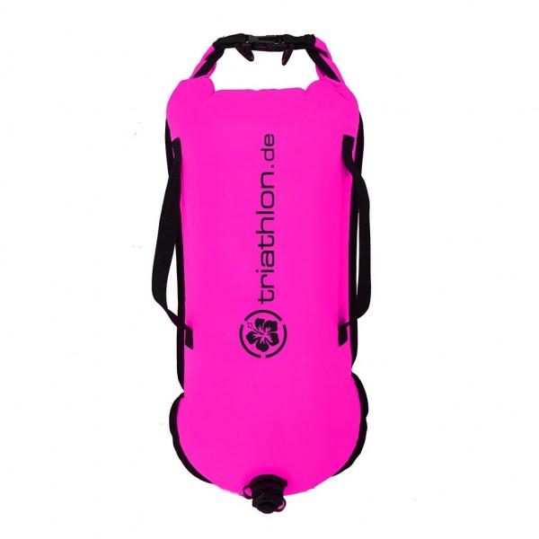 Triathlon Swim & Safety Buoy Schwimmboje für SUP & Freiwasser Pink