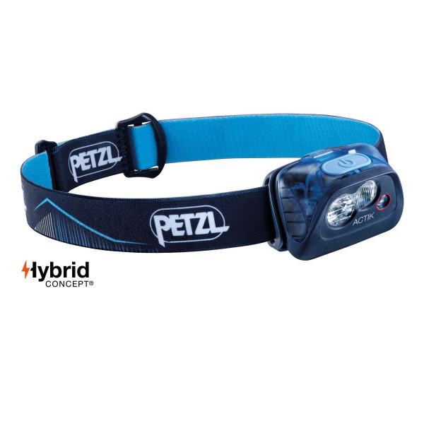 Petzl Actik Active Stirnlampe Blau