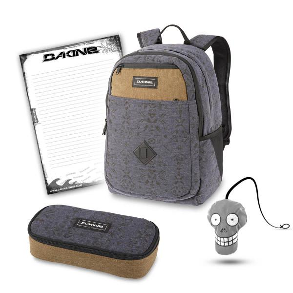 Dakine Essentials Pack 26L + School Case XL + Harry + Block Schulset Night Sky Geo