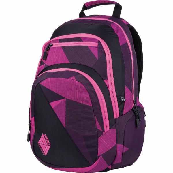 Nitro Stash 29L Rucksack mit Laptopfach Fragments Purple