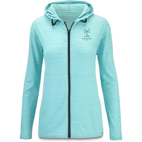 Dakine Women's Dauntless Front Zip Hoodie Damen Lycra Nile Blue Heather