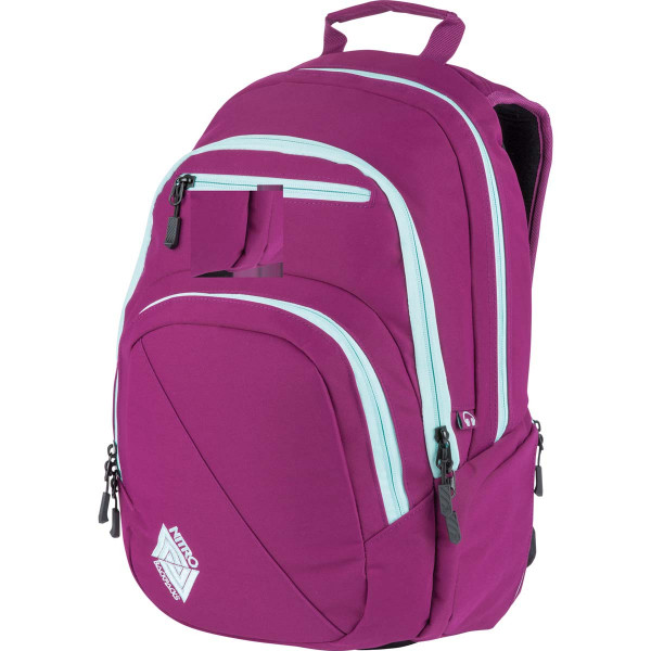 Nitro Stash 29L Rucksack mit Laptopfach Grateful Pink