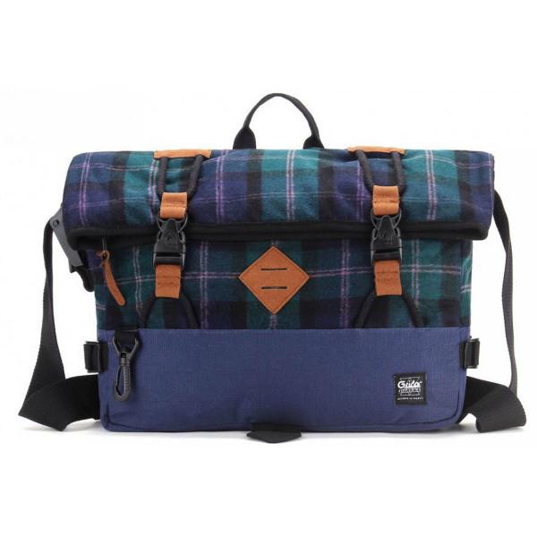 G-Ride Tasche Antoine Blau / Kariert