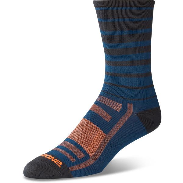 Dakine Singletrack Sock Socken Slate Blue Stripe