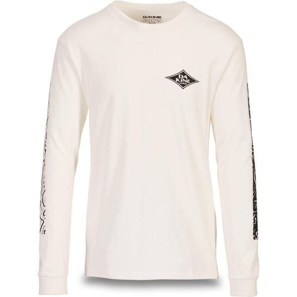 Dakine Lava Tubes L/S T Shirt Herren Off White