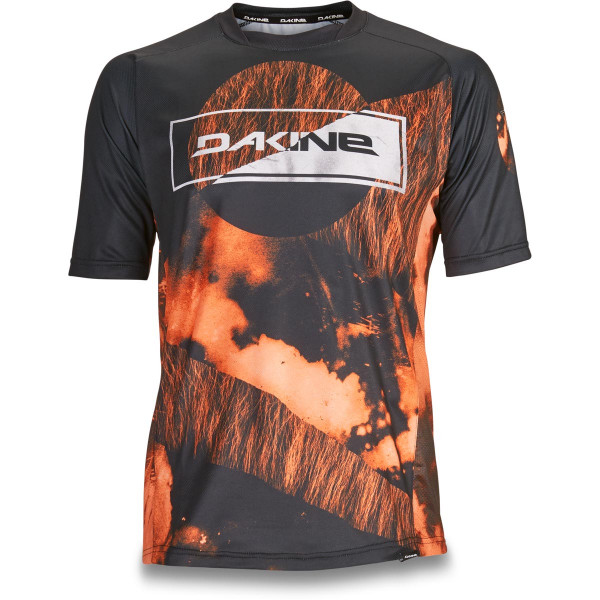 Dakine Thrillium S/S Jersey Herren Bike Jersey Team Aggy Orange