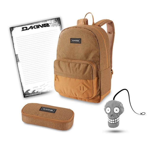 Dakine 365 Pack 30L + School Case + Harry + Block Schulset Caramel