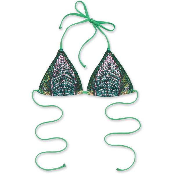 Dakine Olina String Top Bikini Top Bimini Green