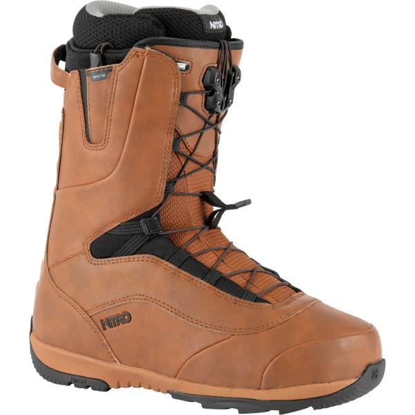 Nitro Venture Tls Boot 21 Snowboard Boots Brown