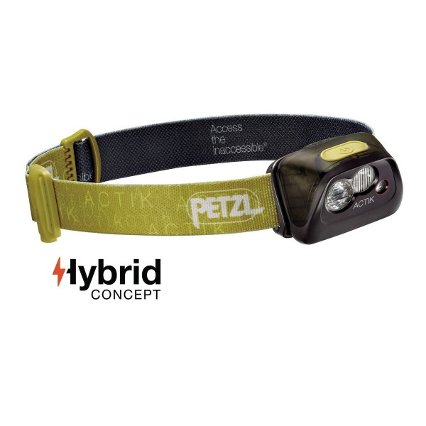Petzl Actik Active Stirnlampe Grün