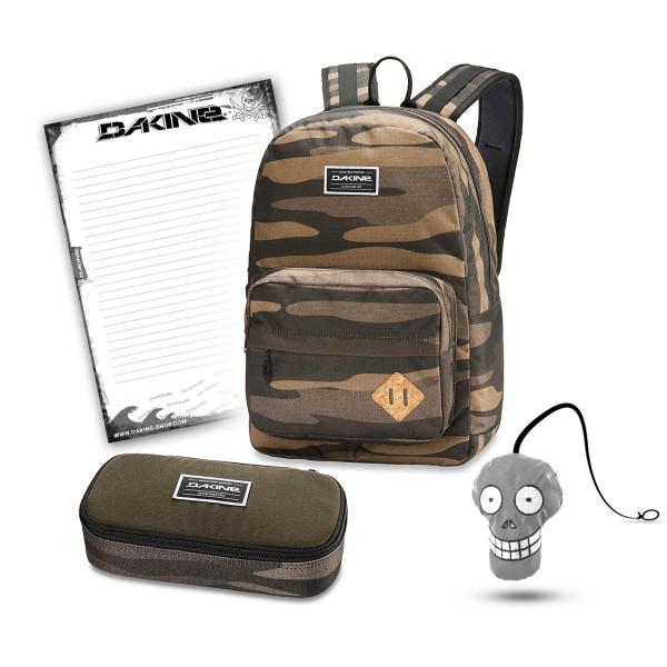 Dakine 365 Pack 30L + School Case XL + Harry Block Schulset Field Camo