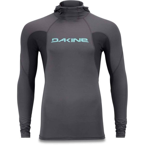 Dakine Heavy Duty Hooded Snug Fit L/S Herren Lycra Shadow