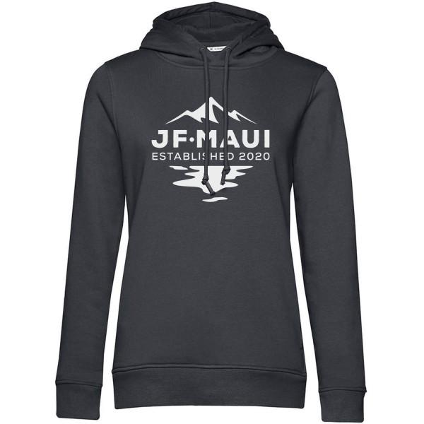 JF Maui Organic Hoodie Kapuzen Pullover Unisex Asphalt