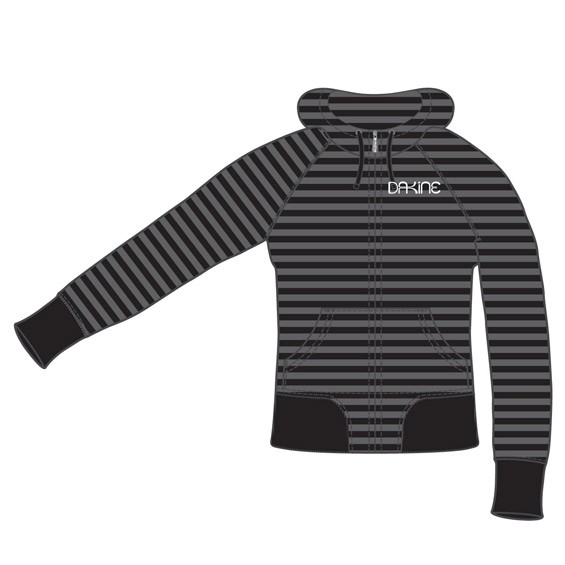 Dakine Womens Stratus Hoodie Sweatshirt / Pullover Black Größe S