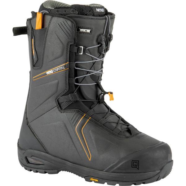 Nitro Capital Tls Boot 21 Snowboard Boots Black-Orange