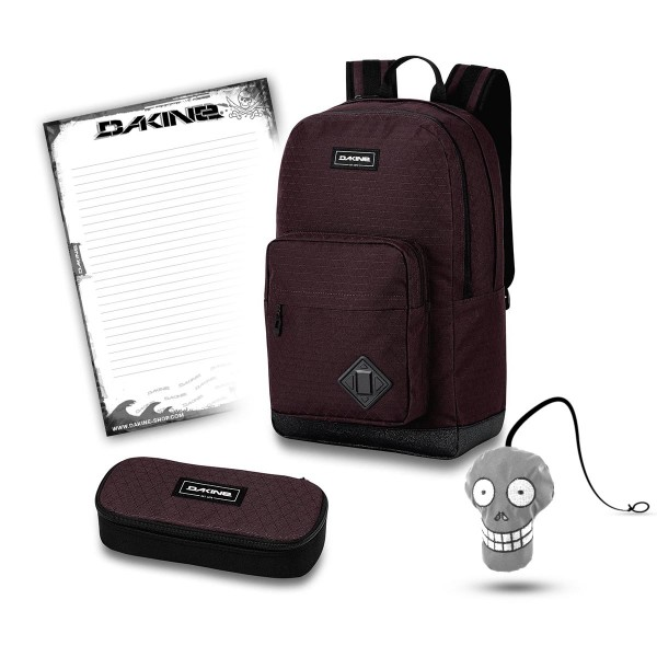 Dakine 365 Pack DLX 27L + School Case + Harry + Block Schulset Taapuna