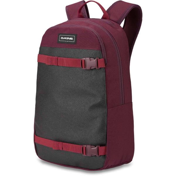 Dakine URBN Mission Pack 22L Rucksack mit iPad/Laptop Fach Garnet Shadow