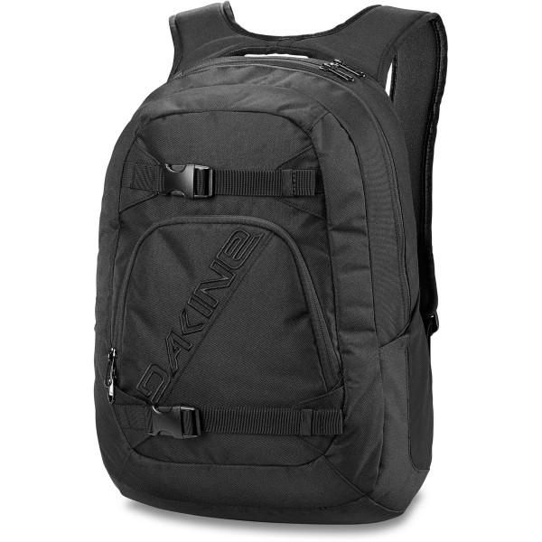 Dakine Explorer 26L Rucksack mit Laptopfach Black