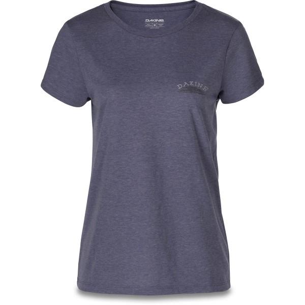 Dakine Womens Zigzag S/S Tech T Damen T-Shirt Heather Navy