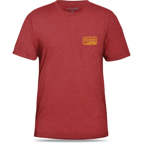 Dakine The Bay T-Shirt Red Heather