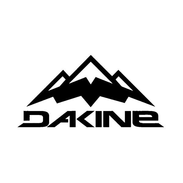 Dakine Lift Aufkleber Black (10 x 5 cm)