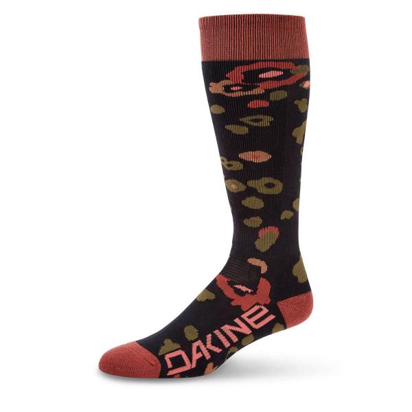 Dakine Womens Freeride Sock Damen Ski- Snowboard Socken Begonia