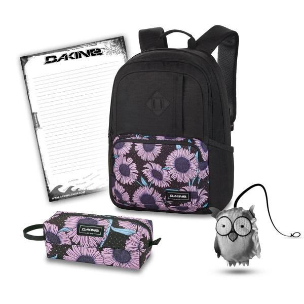 Dakine Alexa 24L + Accessory Case + Emma + Block Schulset Nightflower